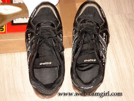 used sport shoes